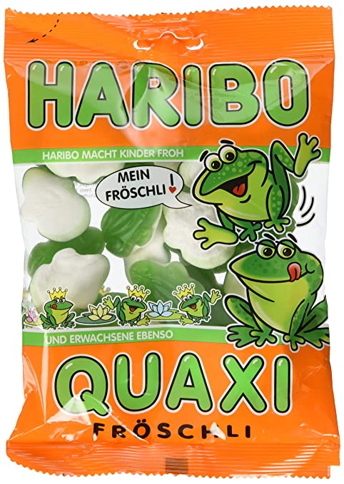 Haribo Quaxi Fröschli Ranas, Ositos de Goma, Gominolas ...