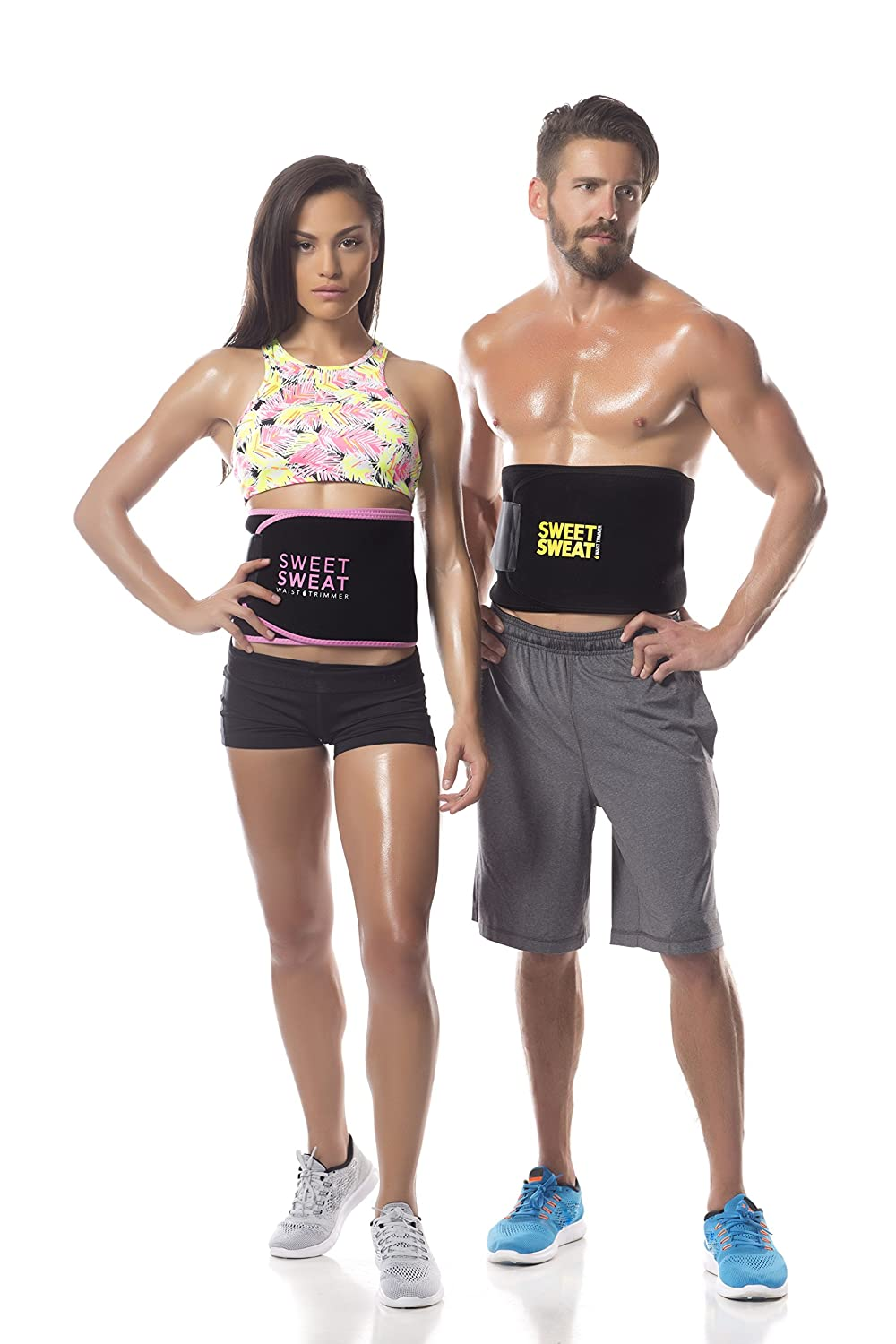 www.sweatsweet.com teen pic Amazon.com: Sweet Sweat Waist Trimmer with Sample of Sweet Sweat Workout  Enhancer gel, Medium: Health & Personal Care
