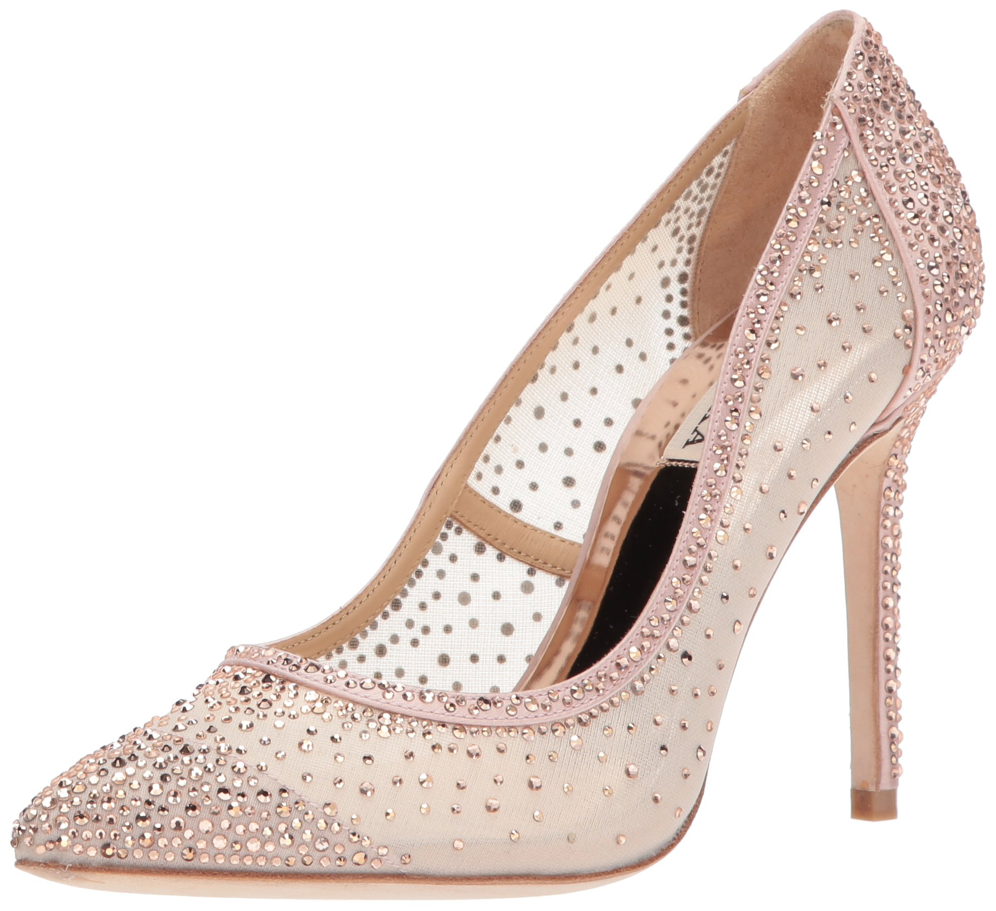 Badgley Mischka Women's Weslee Pump, Blush, 7 M US