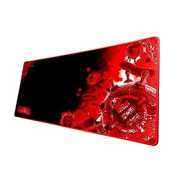 Accessory Power ENHANCE Pathogen XL - Alfombrilla de Ratón Gaming, Mousepad Antideslizante, rojo y