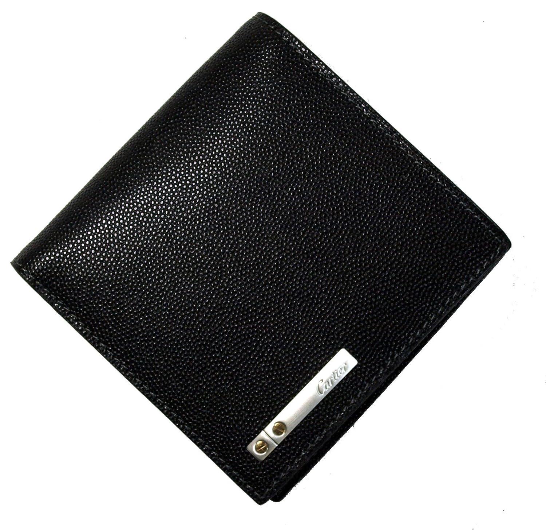 [カルティエ]Cartier 財布 二つ折 (サントス/オニキス) *箱傷あり L3000772 CA-506F [並行輸入品] B00V9BPKT0