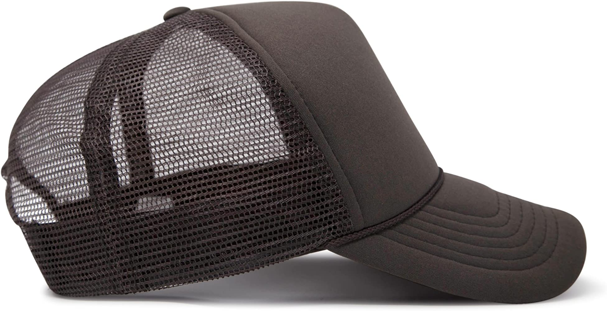 402a178ff4d Trucker Cap Mesh Hat with Solid Colors and Adjustable Strap and ...