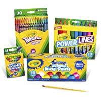 Crayola Marker Crayon and Paint School Pack