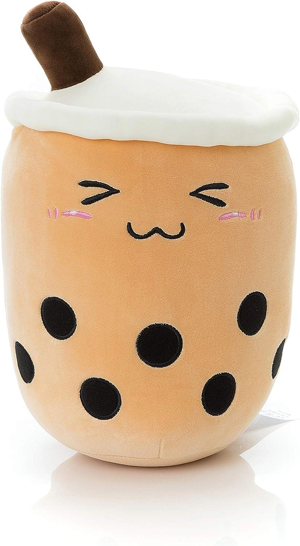 Niuniu Daddy Stuffed Animal Bubble Tea BABO Plush Toy Pillow Cute Cuddle Stuffed Food Toy for Kids Gift 14in
