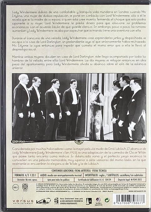 Amazon Com El Abanico De Lady Windermer 1949 Import Movie