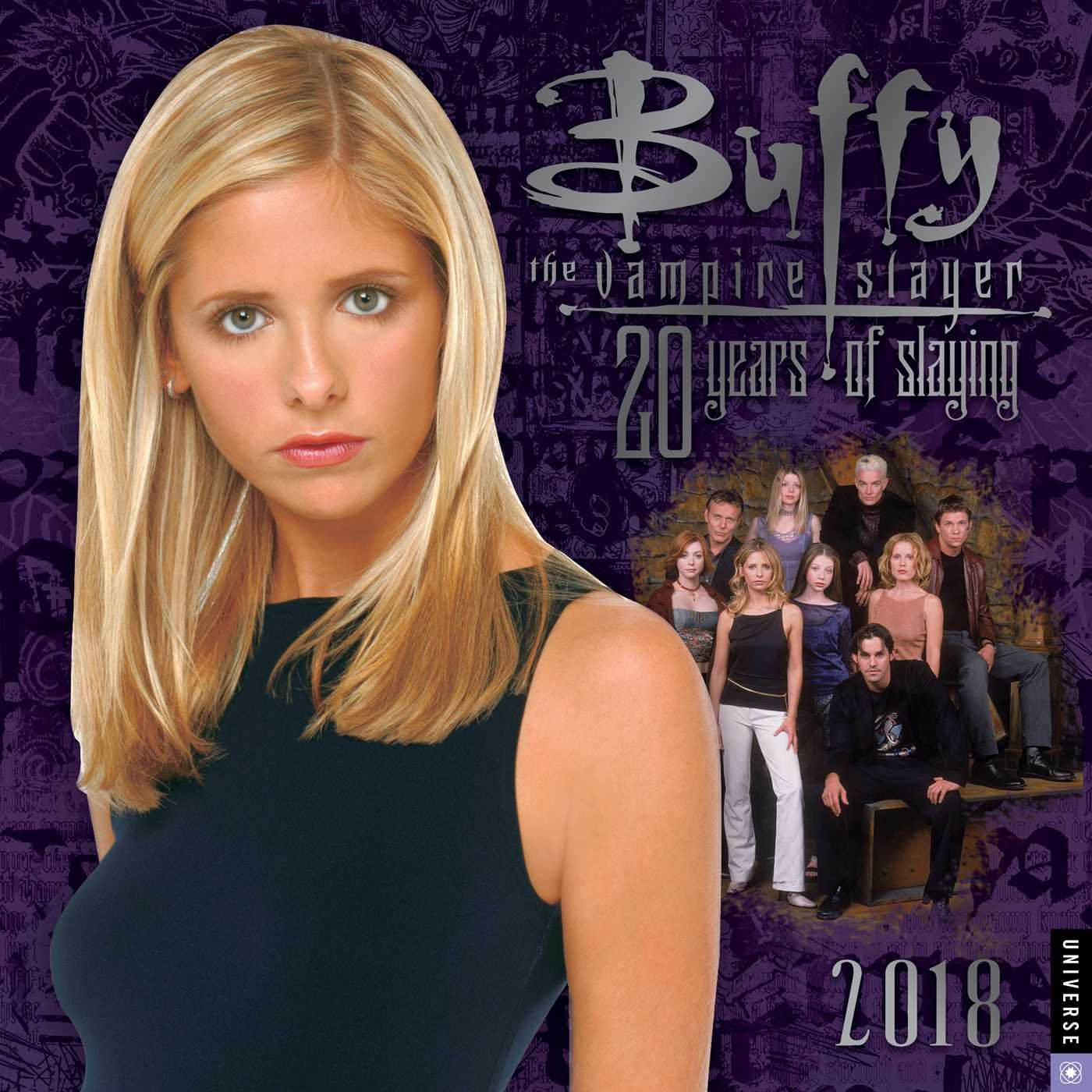 Buffy the Vampire Slayer 2018 Wall Calendar: 20 Years of Slaying by Universe Publishing