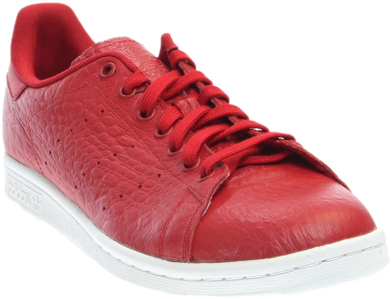 Red   Red   White Adidas ORIGINALS Men's Stan Smith shoes