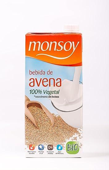 MONSOY Bebida de Avena Ecologica 1L [caja de 4 x 1L]