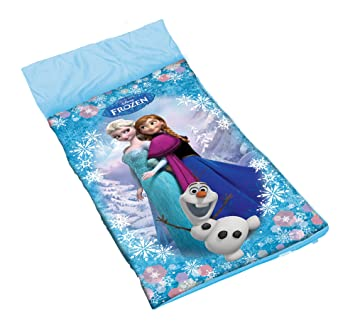 Saco de dormir infantil frozen