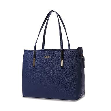 9d448ebf5 Bolsa Feminina Vogue em Couro Sintético Azul MOd: VG19548: Amazon ...
