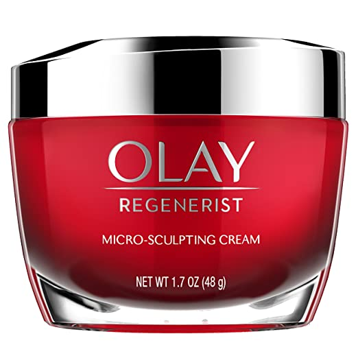 Olay Regenerist Micro-Sculpting Cream Face Moisturizer 1.7 oz (Packaging may vary)