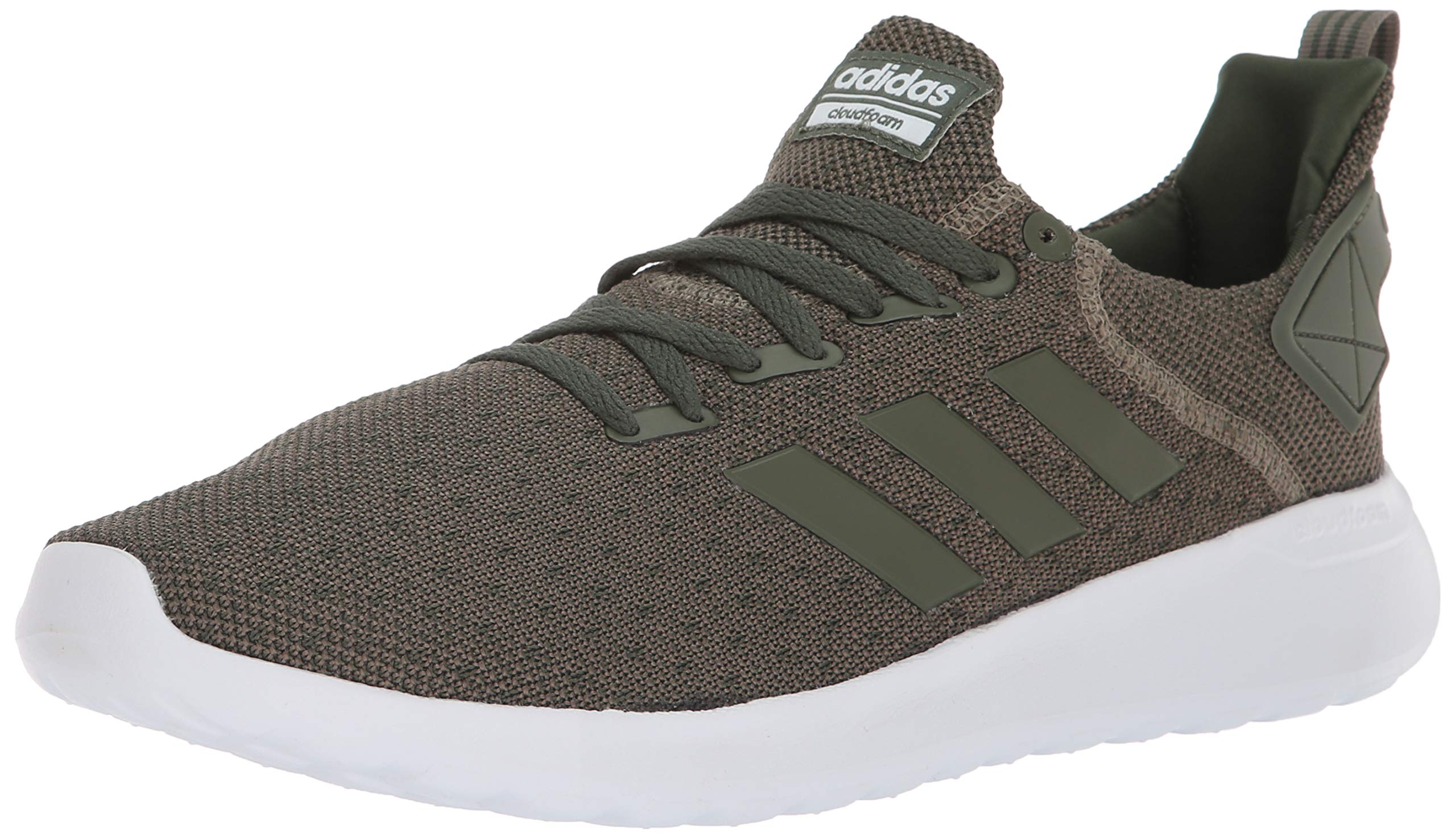 adidas Men's Lite Racer BYD Running Shoe, Trace Cargo/Base Green/White, 10 M US by adidas (Image #1)