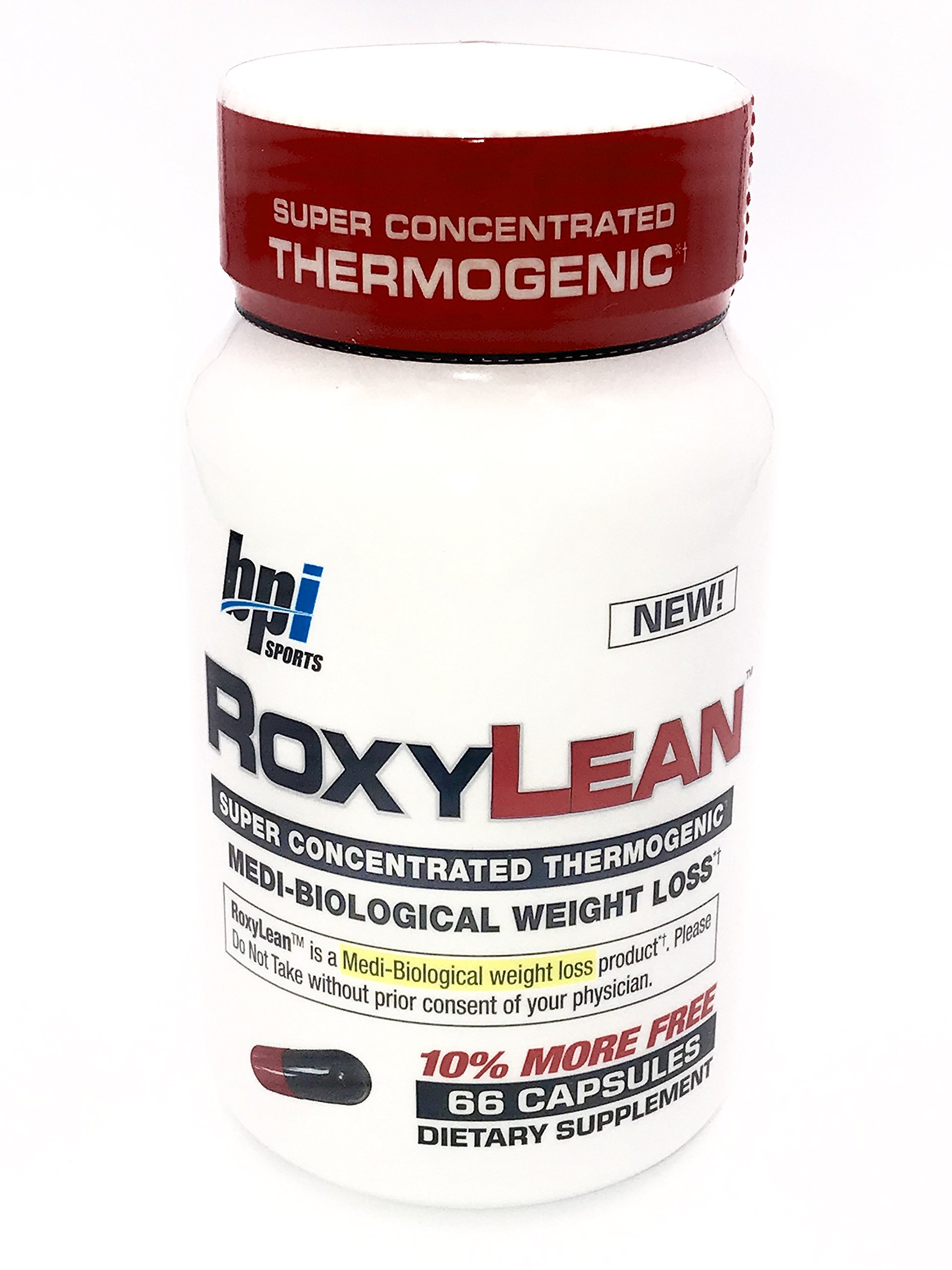 BPI Sports - RoxyLean Medi-Biological Weight Loss 725 mg. - 66 Capsules