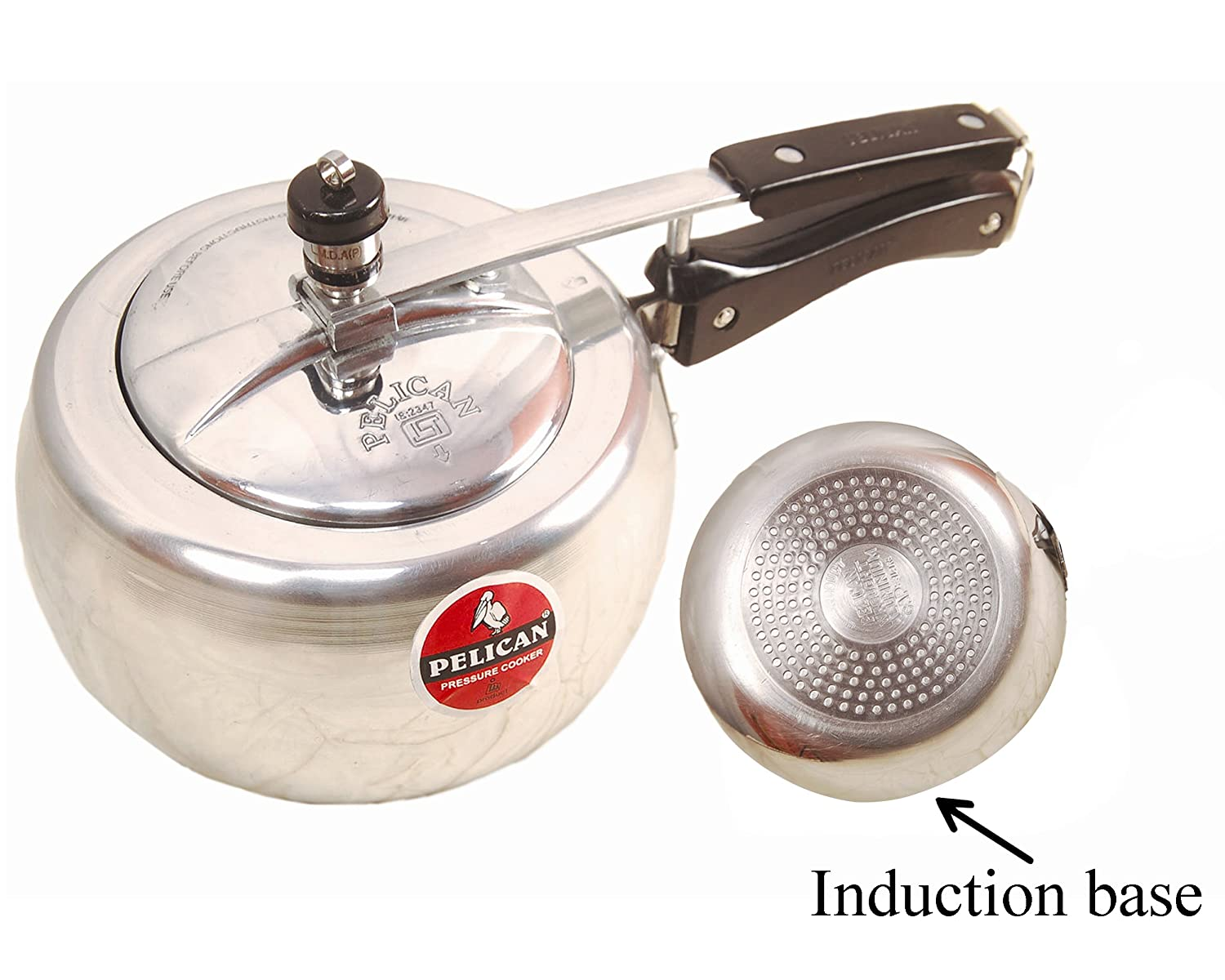 Buy Pelican Aluminum Pressure Cooker 5 Litre Induction Base Online Circuit Boardelectric Cookerinduction At Low Prices In India