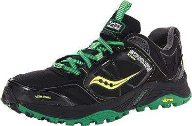 5c6bb013 Amazon.com | Saucony Men's Xodus 4.0 GTX Running Shoe, Black/Green ...