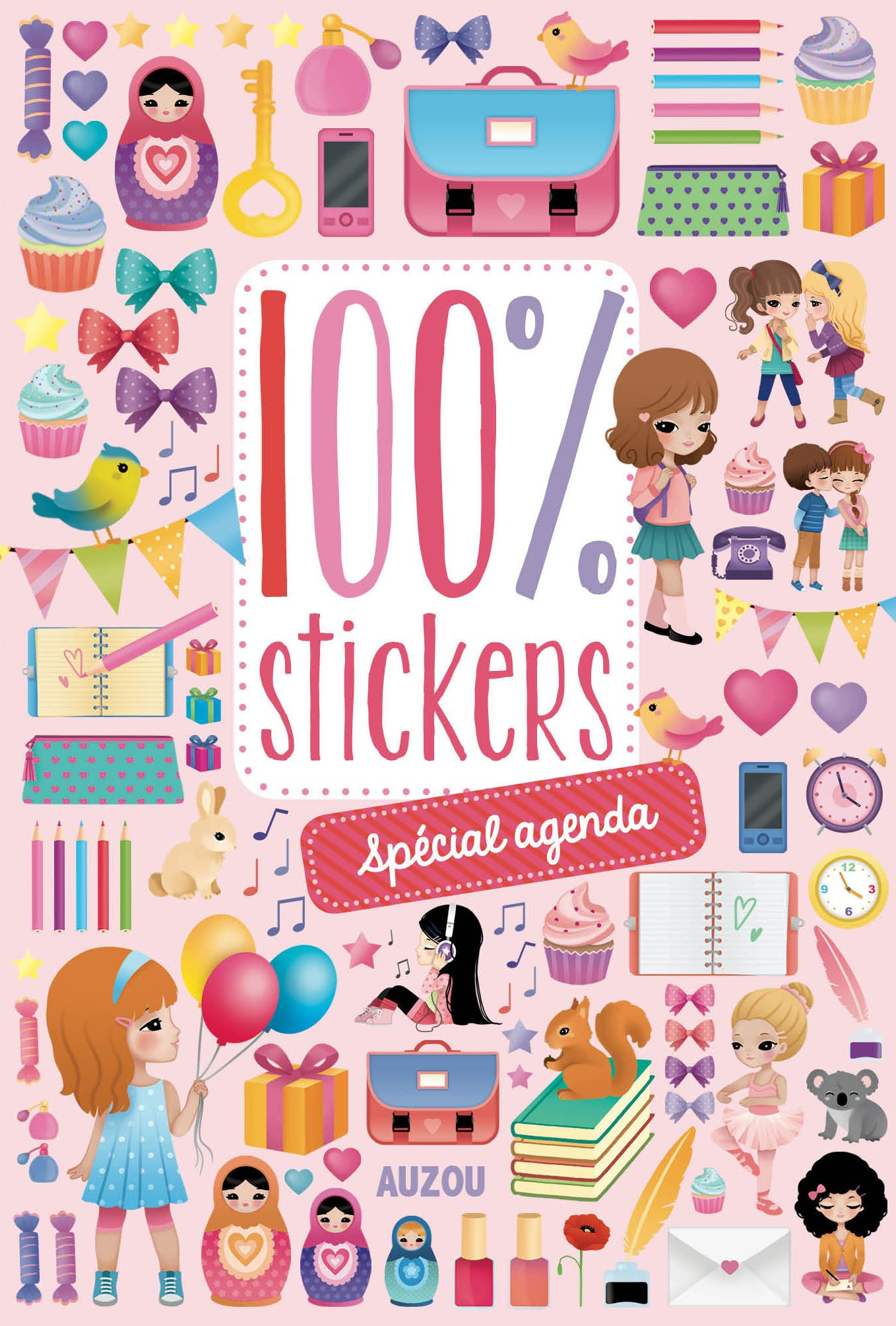 100% stickers spécial agenda: Amazon.es: Candybird, Marion ...