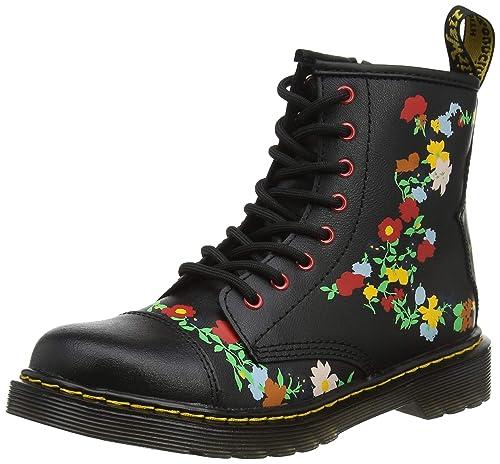Dr. Martens 1460 Pooch Flower J, Botines para Niñas: Amazon.es: Zapatos y complementos