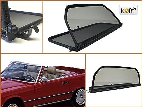 K R Windschott Kompatibel Für Mercedes Benz Sl R107 W107 Cabrio Hochwertiges Markenwindschott Auto