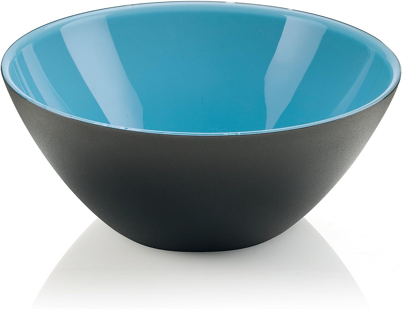 Guzzini My Fusion Set of 2 Bowls 12cm Kiwi//White//Black