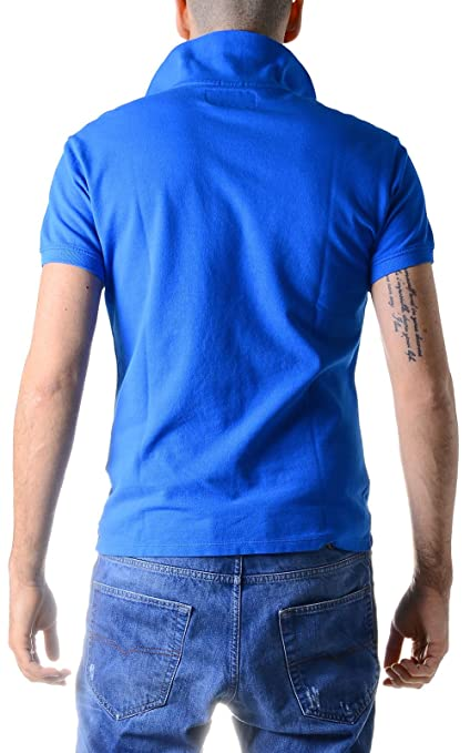 Armani Jeans 06M99 HD Z5 polo shirt blue: Amazon.in: Clothing & Accessories