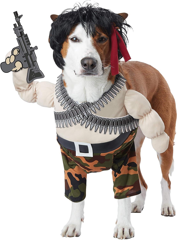 Rambo Action Hero Pet Costume