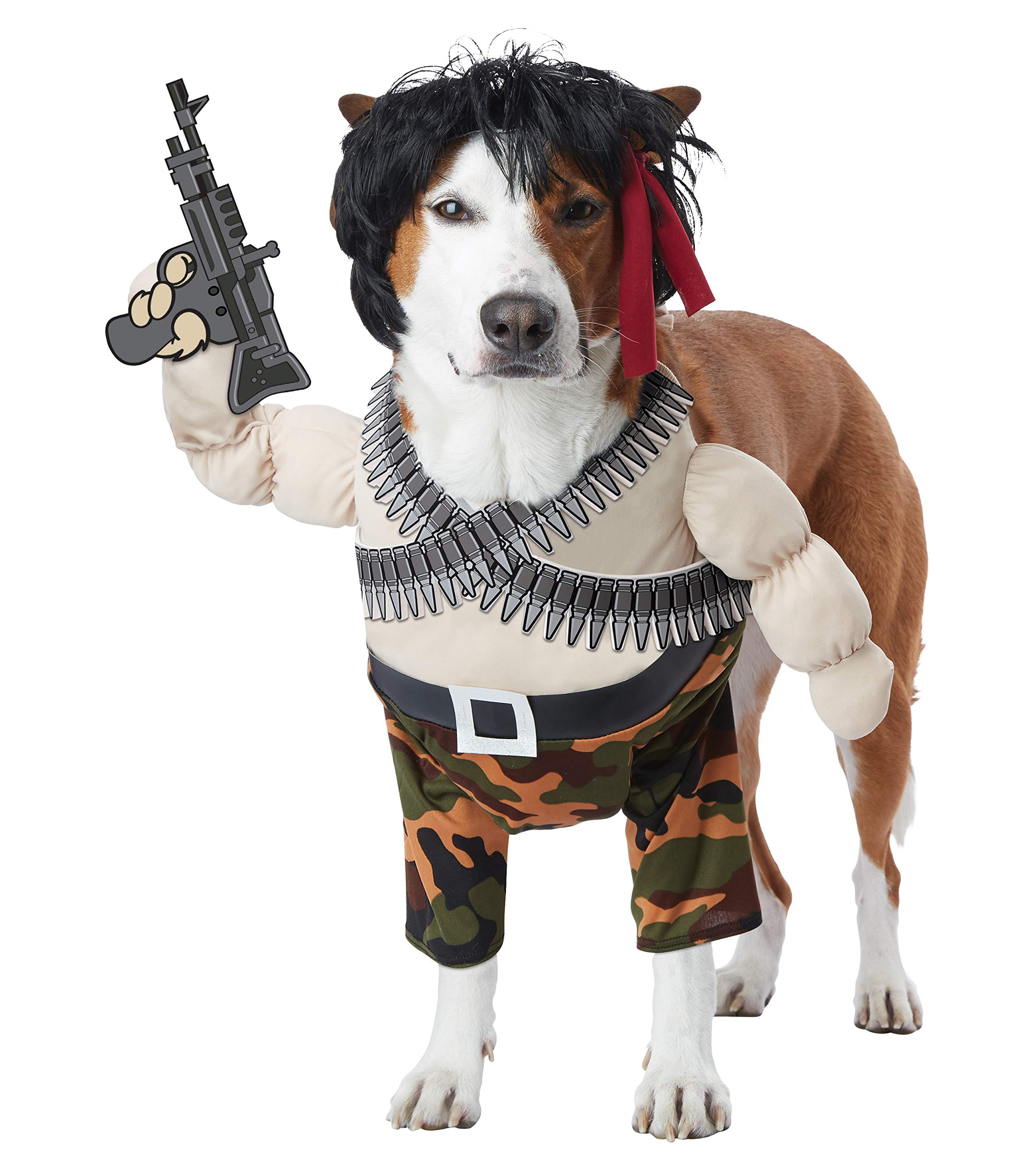 California Costumes Action Hero Dog Costumes, Pet, Multi, Large by CALIFORNIA COSTUME COLLECTIONS