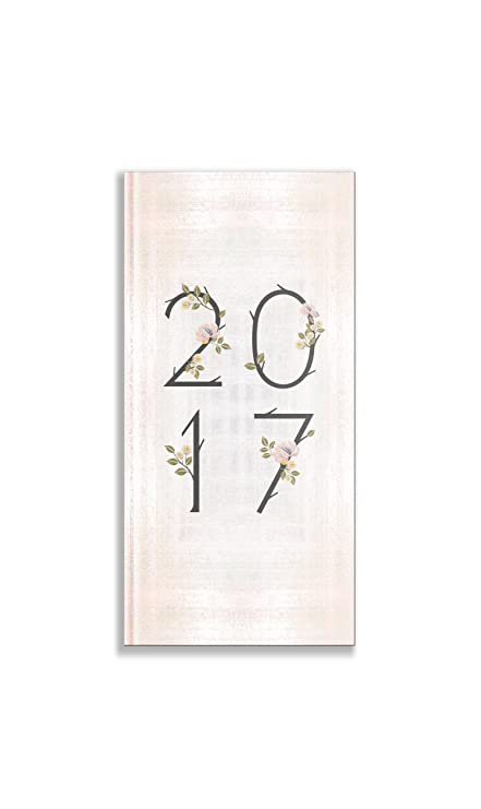 Pierre Belvedere Romantic Printed Pocket Annual Agenda