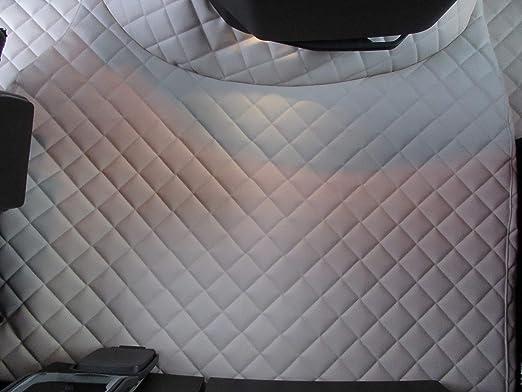 Texmar Fußmatten Für Volvo Fh12 Fh16 Fh4 Automat Ab 2014 Linkslenker ökologisches Leder Beige Auto