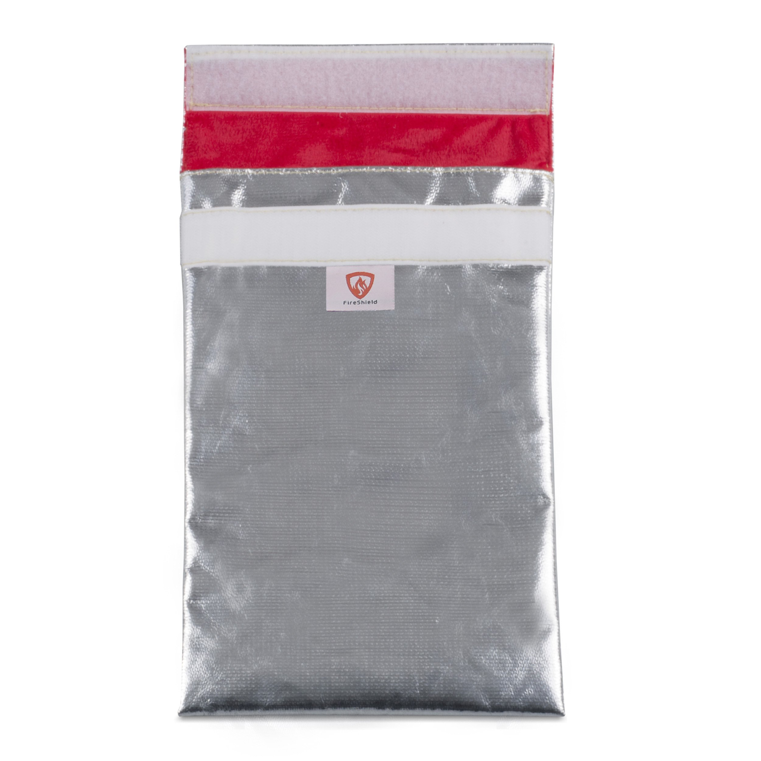 """11""""x7"""" 3-Layer Small Fireproof Bag – No Exposed Fiberglass! - Fire Resistant Storage For Cash, Passports, Photos, and Valuables"""