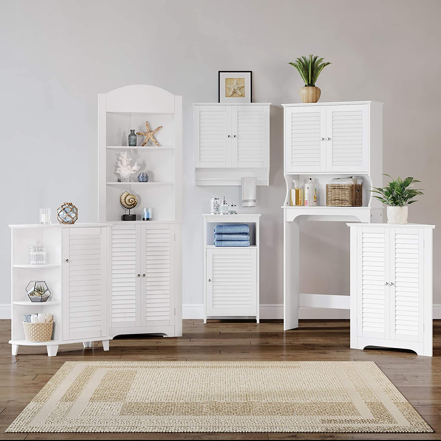 B005Q0EBO0 RiverRidge Ellsworth Collection Spacesaver, White 510AqVjk6DL.SL1500_