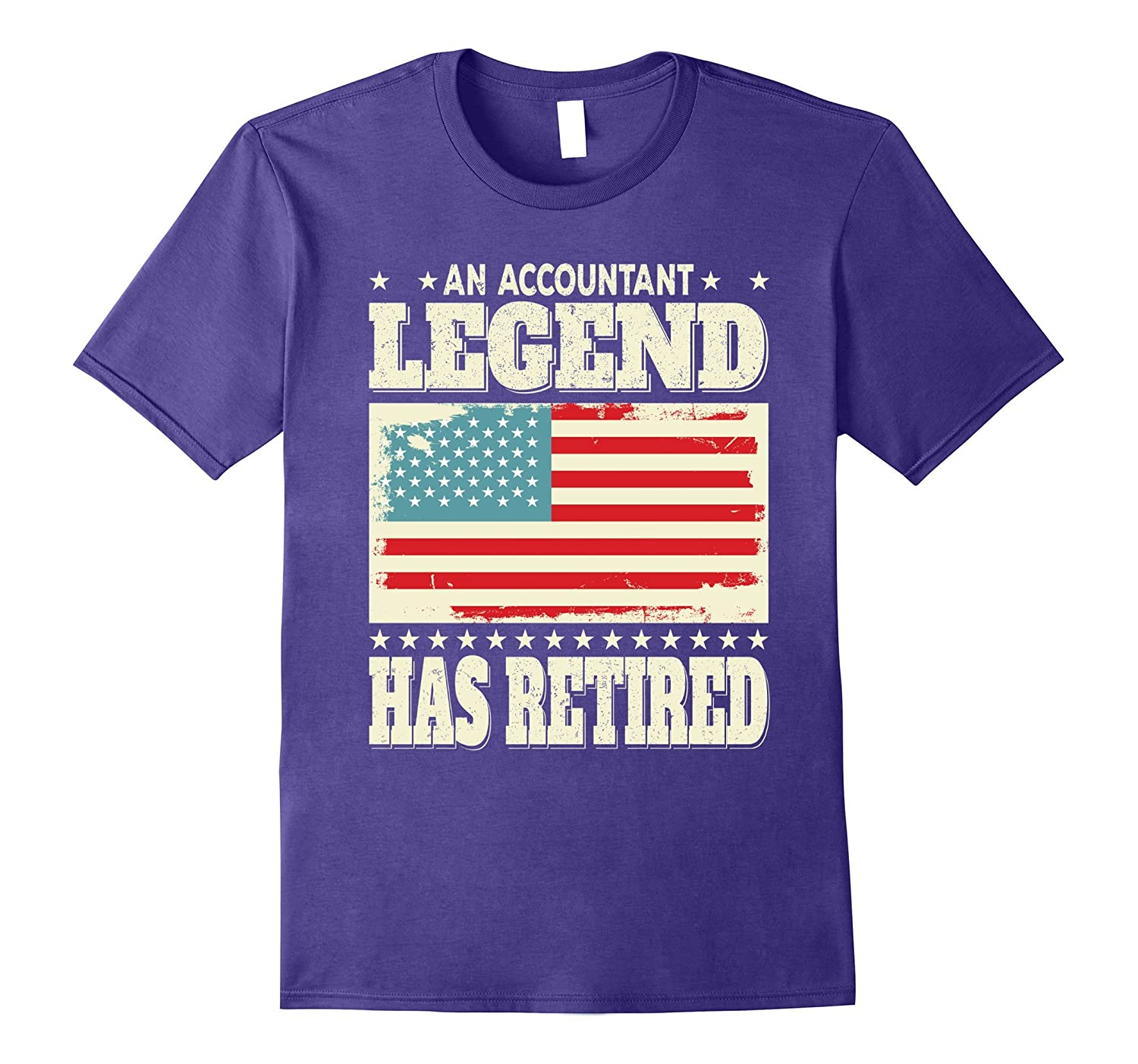An Accountant Legend Has Retired Retirement Gift T-Shirt-TH