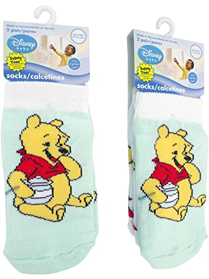 disney Baby Socks 2 pairs toddler socks (12-18months)