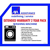 AXA 2 Years Extended Warranty for Washing Machine (Rs. 6000 - 12000)