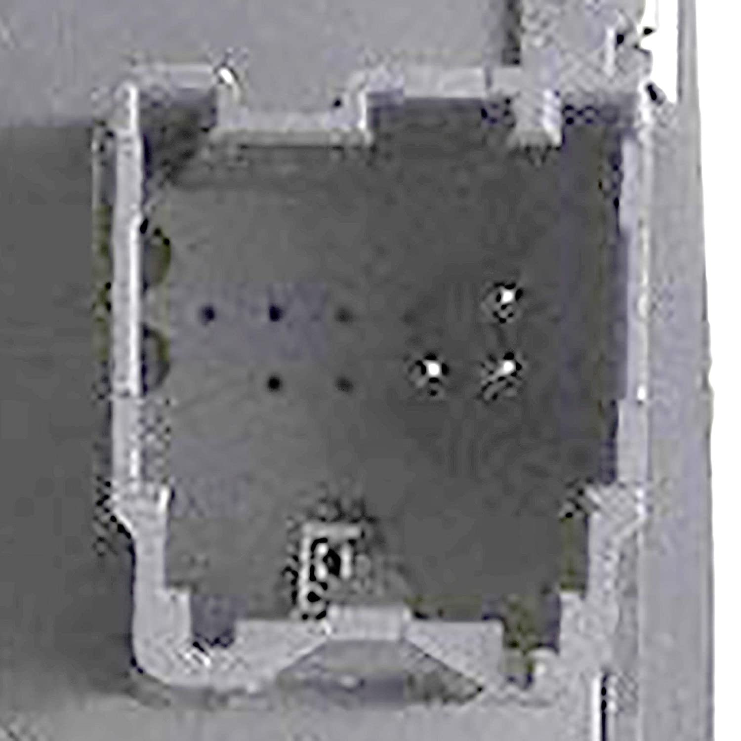 Without Power-Fold Mirrors; Replaces 4602863AD, 4602863AB APDTY 133907 Master Power Window Switch Fits 2009-2012 Dodge RAM 1500 2500 3500 Crew Cab Pickup WithA On Both Front Window Buttons