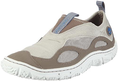 Timberland Wake Slip On - Zapatillas para agua y cangrejeras Hombre - marrón/blanco Talla 36 2012: Amazon.es: Zapatos y complementos