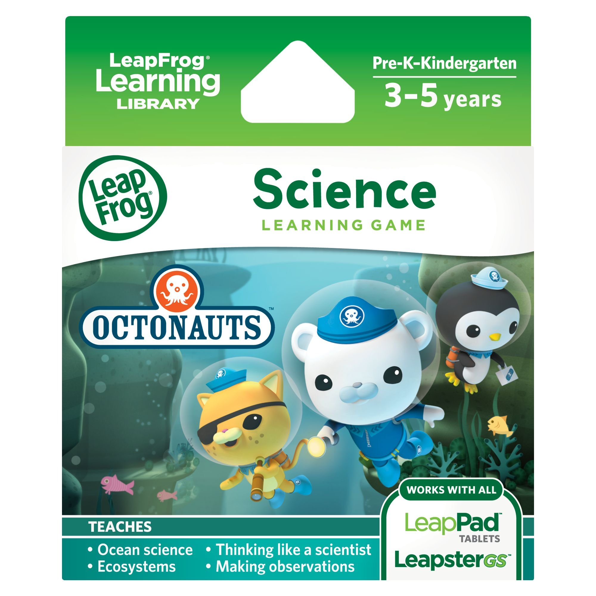 LeapFrog Science Learning Game Disney Octonauts for LeapPad Platinum, LeapPad Ultra, LeapPad1, LeapPad2, LeapPad3, Leapster Explorer, LeapsterGS Explorer by LeapFrog (Image #1)