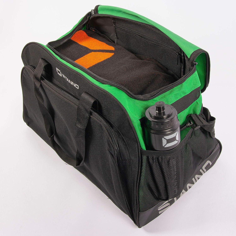 Perfekt geeignet als Fussballtasche Sport Tasche Fitnesstasche Damen /& Kinder Stanno /® Sporttasche mit Handyfach und viel Volumen Trainingstasche f/ür Herren Sporttasche f/ür m/änner