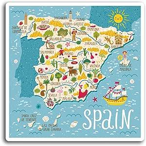 Vacaciones Etiqueta de equipaje #20532 2 X 10cm Benalmadena España pegatinas de vinilo Viajes