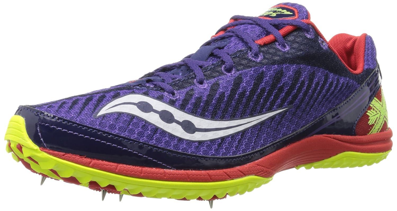 Saucony Men's Kilkenny XC5 Spike Cross Country Spike Shoe B00GWKZA3E 12.5 D(M) US|Purple/Red/Citron
