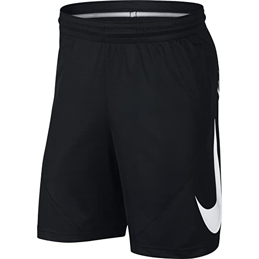 09529215d9 NIKE Men's HBR Basketball Shorts, Black/Black/White, Small