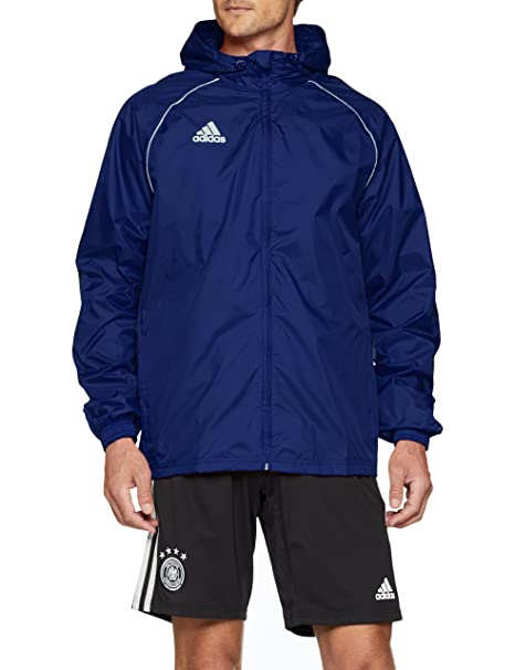 0923ff2d4442 adidas Men s Core 18 Rain Jacket at Amazon Men s Clothing store