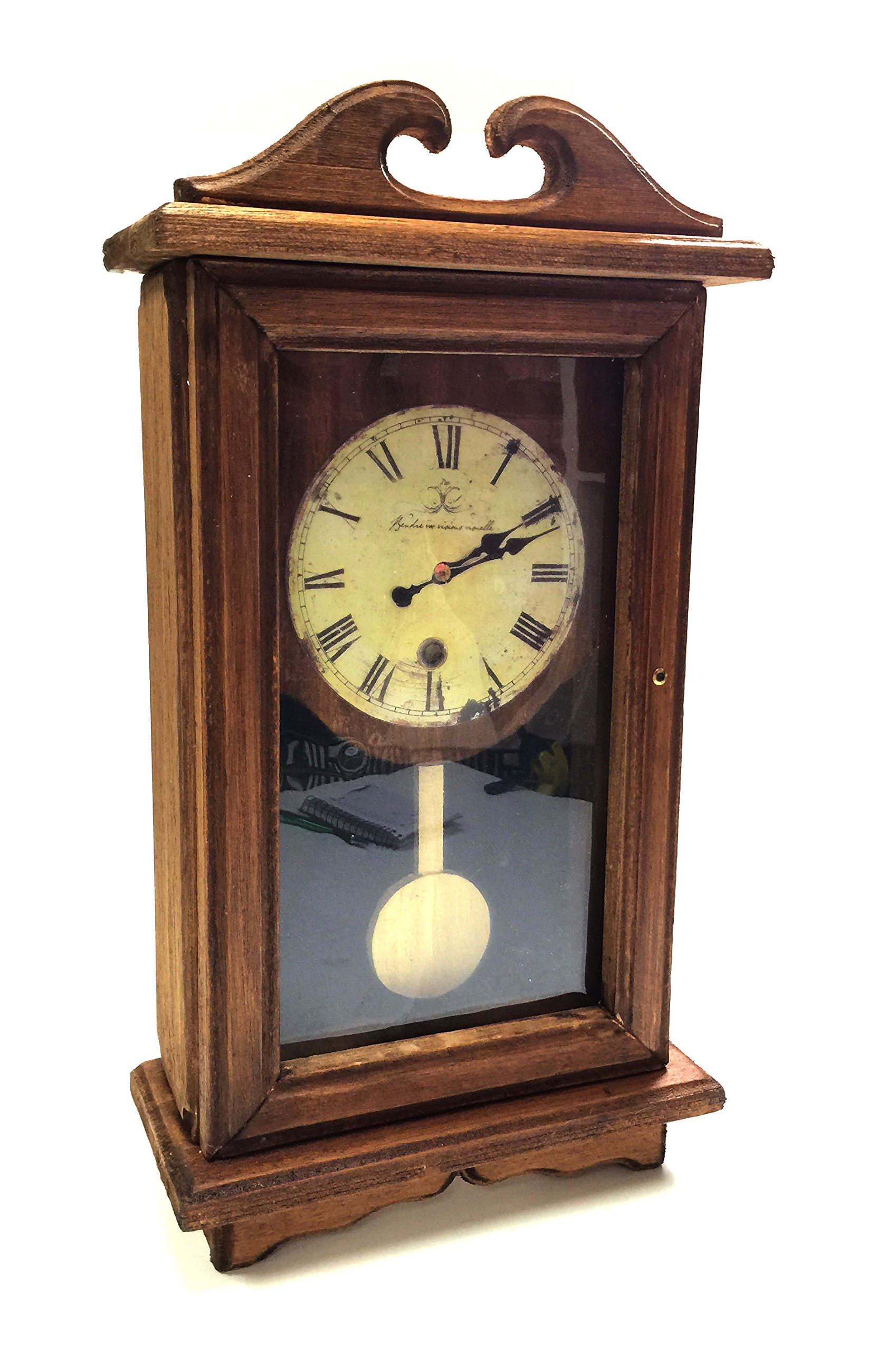 Breakaway Balsawood Clock Regulator Style Antique Pendulum Stunt Prop