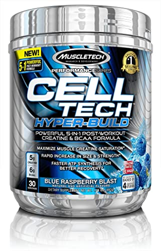 MuscleTech Cell Tech Hyperbuild Post Workout Recovery Drink Powder