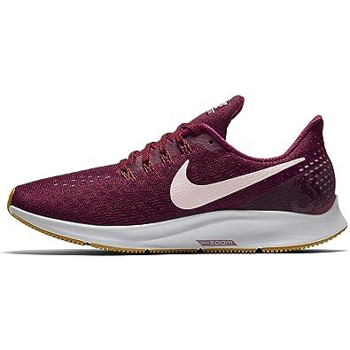 Nike Wmns Air Zoom Pegasus 35, Zapatillas de Running para Mujer, Rojo (True Berry/Plum Chalk/Vapste Grey 606), 39 EU: Amazon.es: Zapatos y complementos