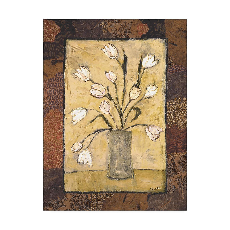 Trademark Fine Art Blooms in Border I by Judi Bagnato, 14x19