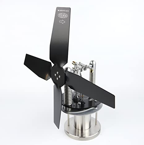 Ventilador De Estufa, Motor Stirling, Warpfive Steelhead ...