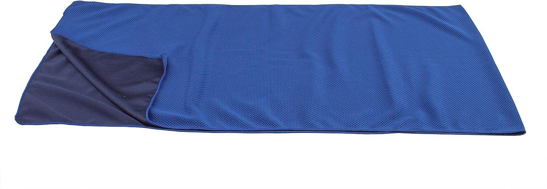 120x31 cm in Blau//Schwarz aus 100/% Polyester Tennis Ideal als K/ühlung f/ür Reisen Kopftuch Fu/ßball Klettern Bandana K/ühlendes Handtuch f/ür sofortige Abk/ühlung Auch benutzbar als Schal