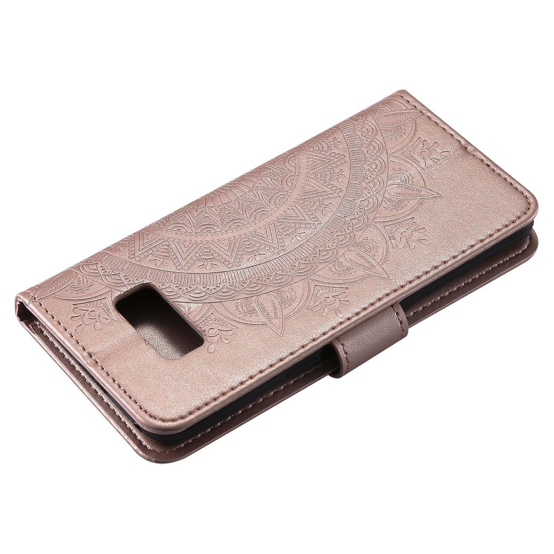 S8 Plus NEHHA10610 Grau // G955 S8Plus H/ülle Leder Samsung Galaxy S8+ NEXCURIO Handyh/ülle Tasche Leder Flip Case Brieftasche Etui mit Kartenfach Sto/ßfest Kratzfest Schutzh/ülle f/ür Samsung Galaxy S8+