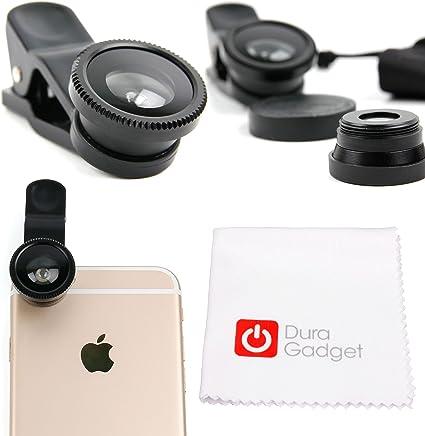 DURAGADGET Kit Lentes 3 EN 1 para Smartphone Apple iPhone 7, 7 Edición Roja y 7 Plus: Amazon.es: Electrónica