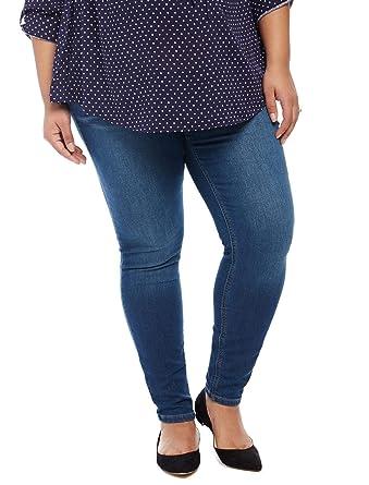 c1b82fbdbc857 Motherhood Plus Size Secret Fit Belly Jegging Maternity Jeans at Amazon  Women's Clothing store: